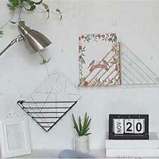 Modern Style Metal Wire Book Holder Office Desktop Bookshelf Rack for School