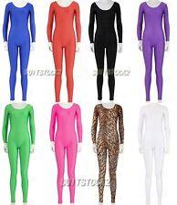 Round Neck Unisex Lycra Spandex Zentai Skin Costume Bodysuit Catsuit Unitard