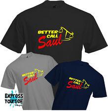 Mieux appeler Saul-T shirt, brisant mauvais, Goodman, TV, fun, avocat, qualité