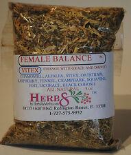 Herbs by Merlin FEMALE BALANCE VITEX TEA- (Change, Menopause) Organic Tea 3 oz