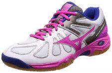 Mizuno Badminton shoes WAVE SMASH LO4 71GA1860 White × Pink × Blue