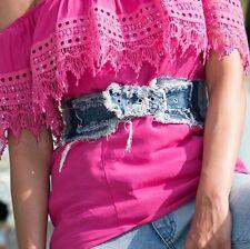 By Alina Korsett Damentop Jeans Corsage Jeansgürtel Taillengürtel 34 / XS #B732