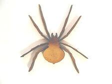 6x WOODEN HALLOWEEN SPIDER SHAPES gift craft card embellishment make scrapbook