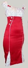 Rot anker nautik matrosenkleidung 50er jahre rockabilly 8-20