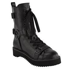 Killstar Gothic Goth Punk Stiefel Combat Boots - Eris Pentagramm
