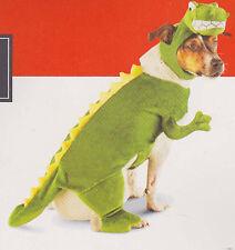 DINOSAUR SMALL DOG COSTUME Pet Animal Halloween Target Green Plush Jurassic NEW
