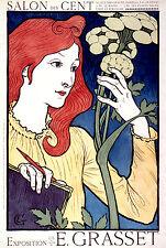 Vintage Français Style Art Nouveau shabby chic imprimés & AFFICHES 052 A1, A2,