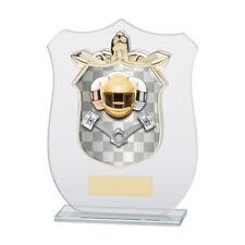 Motorsports VETRO Trophy Award nel 4 dimensioni con incisione gratuita fino a 30 Lettere