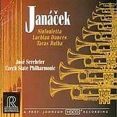 Leos Janacek: Sinfonietta; Lachian Dances; Taras Bulba ECD (CD, Oct-1995, Refere