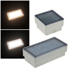 LED Pflasterstein-Leuchte 230V EEK: A+ Bodeneinbaustrahler beleuchteter Pflaster
