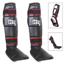 Boxing Shin Instep MMA Thai Kick Pads Leg Protector Martial Arts Training Guards