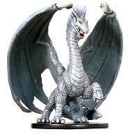 Archfiends Large Silver Dragon 5/60 Rare D&D Mini