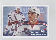 2011-12 Panini Album Stickers #116 Sean Avery New York Rangers Hockey Card