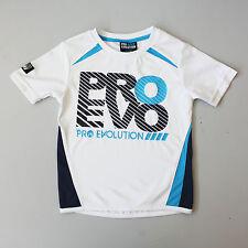 NEW Pro Evo Boys 2 yrs 3 yr 4 yr 5 yr 6 yr Sports Style White T Shirt