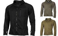MFH Felpa Giacca zip uomo militare US Jacket Lining Tactical 03202