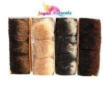 UK: For Dreadlocks wrapping 1 Pack of Super Soft 100% Human Hair Afro Kinky BULK