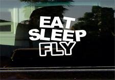 EAT SLEEP FLY VINYL STICKER