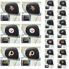 New NFL Pick Your Teams Automotive Gear Car Truck Headrest Covers 2pc Set