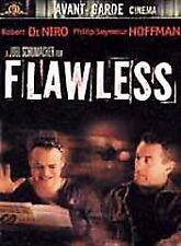 FLAWLESS DVD WIDESCREEN DVD ROBERT DeNIRO PHILIP SEYMOUR HOFFMAN 2000 DVD