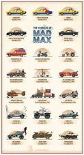 157652 Mad Max 4 Fury Road - Fight Shoot Car USA Movie Wall Print Poster CA