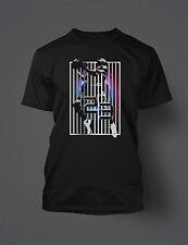 23 Vertical Graphic T Shirt to Match JORDAN Shoes Pro Club Short Sleeve Black T
