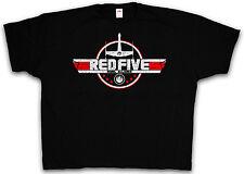 4XL & 5XL RED FIVE REBEL T-SHIRT Star Skywalker Wars X-Wing T Shirt XXXXL XXXXXL