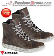 Scarpe Dainese Street Rocker wp testa di moro dark brown moto shoes waterproof