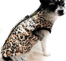 Hundejacke Hund Mantel XS S M L Weste Schwarz Neu Winter warm Leo