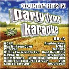 KARAOKE - PARTY TYME KARAOKE: COUNTRY HITS, VOL. 19 NEW CD