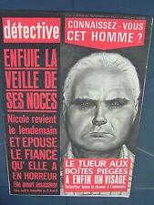 Détective 1969 1208 COMBES SAINT RAMBERT ALBON BOURG ACHARD ECHALAS FRANCHEVILLE