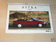 11293) Opel Astra convertible Austria folleto 1994