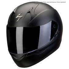 Scorpion exo-390 Solid Moto Casque Intégral Touring-noir mat