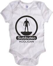 TUM0136 body Bimbo Subbuteo Hooligans Bambino 100% cotone Bimba