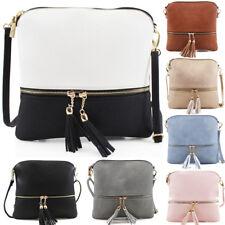 Ladies Cross Body Messenger Bag Women Shoulder Over Bags Oragniser Handbags