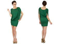 Foley & Corinna Cowl Back Dress Hunter Green Mini Short Sexy Designer New