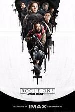ROGUE ONE STAR WARS IMAX MOVIE POSTER FILM A4 A3 ART PRINT CINEMA