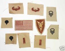 lot de 10  Patchs US air force desert   ( 94 )