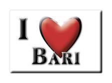 CALAMITA PUGLIA ITALIA FRIDGE MAGNET MAGNETE SOUVENIR I LOVE BARI (BA)