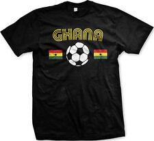 Ghana National Soccer Team The Black Stars Football Africa Mens T-shirt