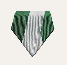 Aufhänger für Medaillen und Orden, Befestigung für Jagd und Schützen, grün-weiß