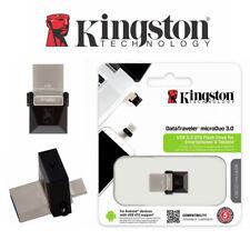 Micro USB Drive OTG Kingston 32G 64GB 16GB DataTraveler MicroDuo 3.0 Flash Drive