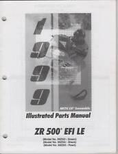1999 ARCTIC CAT ZR 500 EFI  LE SNOWMOBILE PART MANUAL