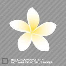 Plumeria Sticker Decal Vinyl flower flowers