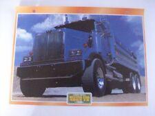 CARTE FICHE CAMION TRAVAUX PUBLICS WESTERN STAR 4964 FX 1996