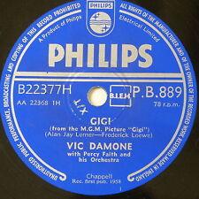 78 record in frame GIGI / SEPERATE TABLES vic damone
