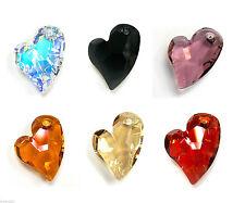 Swarovski Crystal Element 6261 Devoted 2 U Heart Love Pendant Many Color & Size