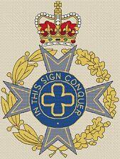 "Royal Army Chaplains' Department Cross Stitch Design (6x8"",15x20cm,kit or chart)"