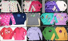 GYMBOREE Striped Polka Dot Ruffled GLITTERY Long Slv KNIT TOP SHIRT Shirts 4 - 5