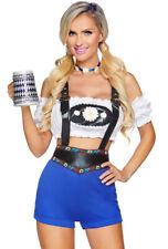Leg Avenue German Beer maid lederhosen costume