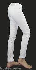 Diesel Women Grupee-Zip Ankle Skinny Jeggings Stretchy Pants Jeans 605J White